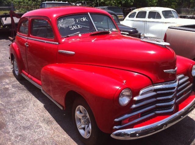 Fleet master 1947 2 door sedan classic street rod project for 1947 chevy 2 door coupe