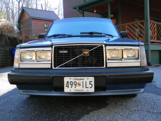 For Sale Is Very Rare Volvo Turbo W Intercooler on Volvo 240 Fuel Filter Location