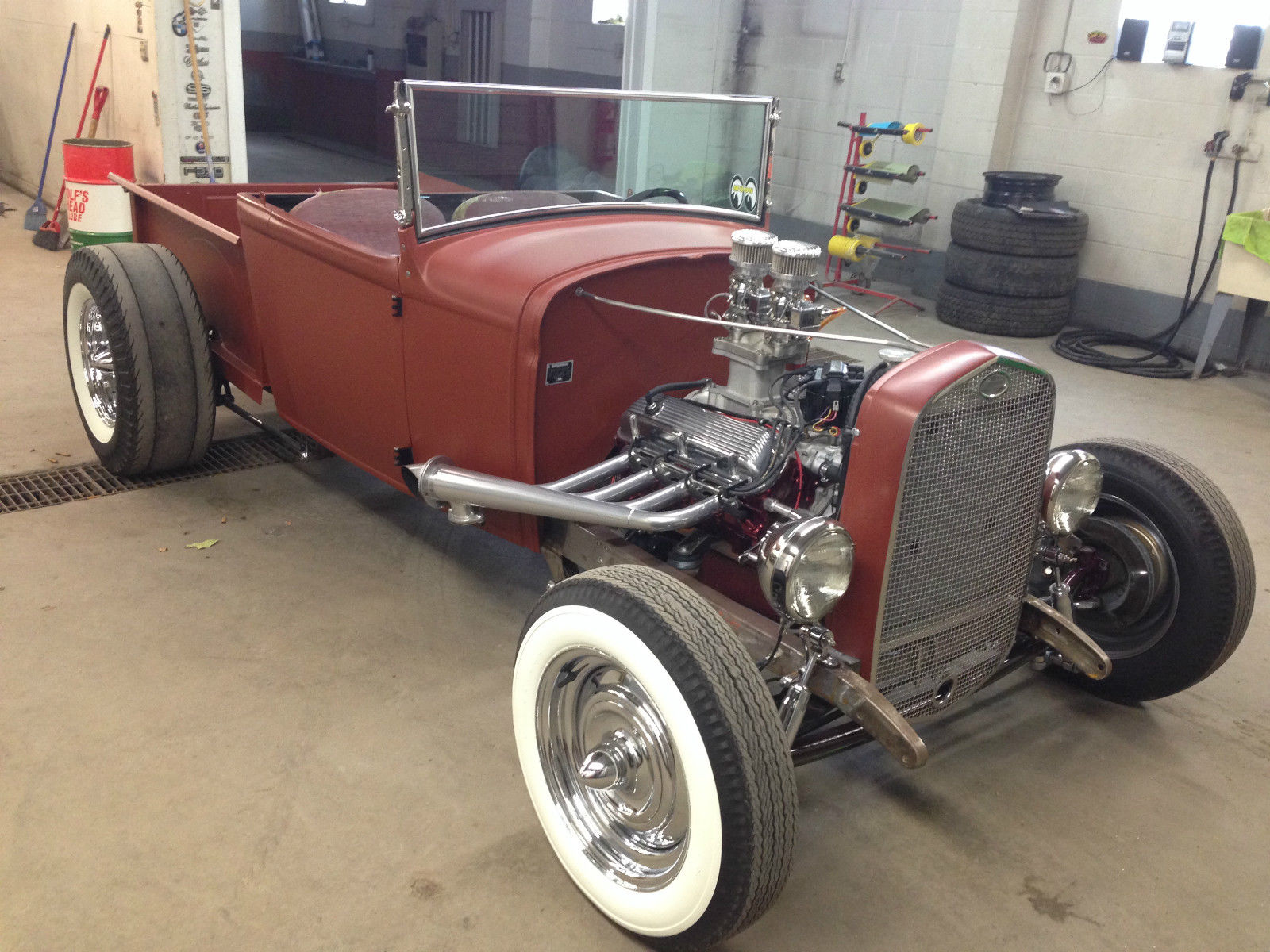 FORD 1930 MODEL A CUSTOM HOT ROD PICKUP-302 5 SPEED- ONE OF A KIND ...