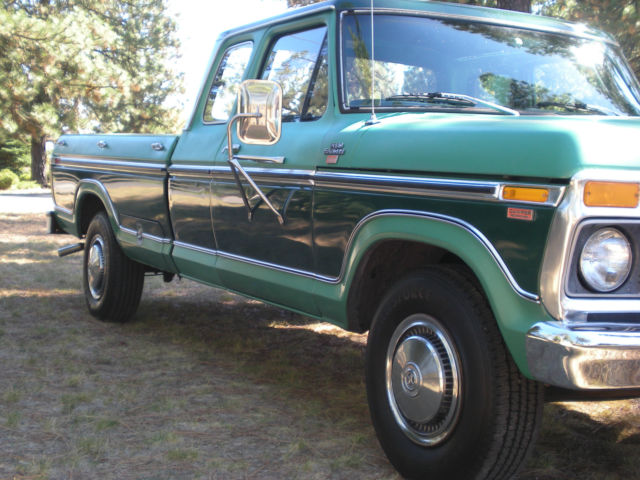 Used Cars Spokane >> FORD 1977 F250 RANGER XLT SUPER CAB CAMPER SPECIAL - Classic Ford F-250 1977 for sale