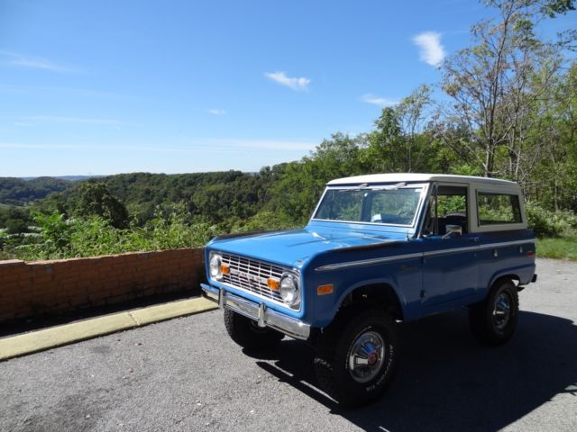 Ford Bronco 302 V8 3 Speed Classic Ford Bronco 1972 For Sale