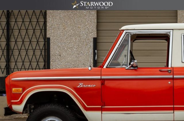 Ford Bronco Orange With 55 245 Miles For Sale Classic