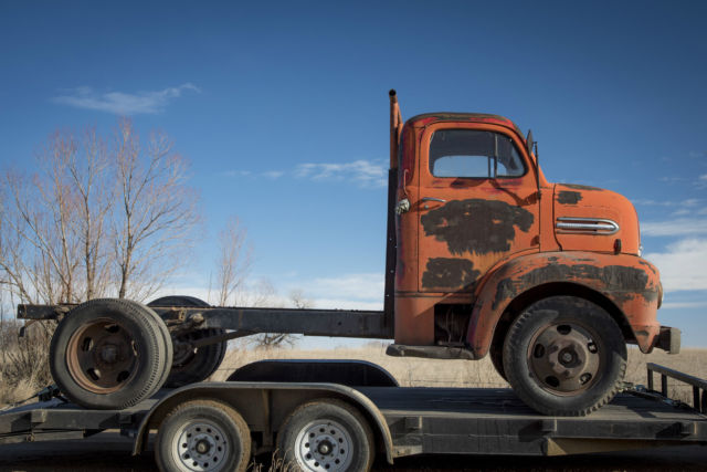 Ford Cab Over Flathead Patina Farm Truck Hot Rod