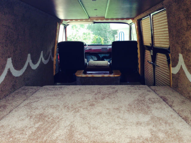 Work Van For Sale >> FORD ECONOLINE CUSTOM INTERIOR - Classic Ford E-Series Van 1963 for sale