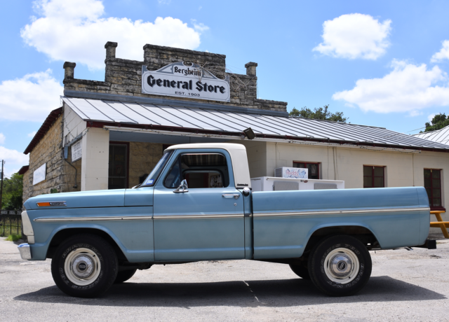 ford f100 1969 short bed pickup