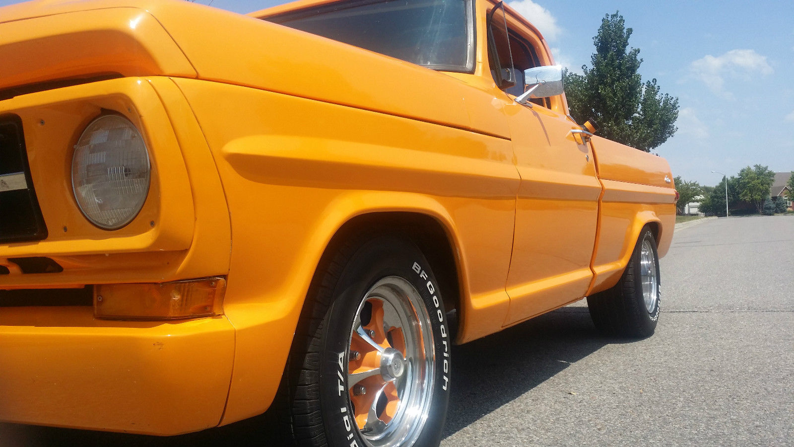 Trucks For Sale In Kansas >> Ford F100. Custom show truck. chopped, orange, f100. muscle truck - Classic Ford F-100 1970 for sale