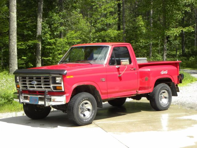 ford f150 classic 1986 stepside classic ford f 150 1986 for sale. Black Bedroom Furniture Sets. Home Design Ideas