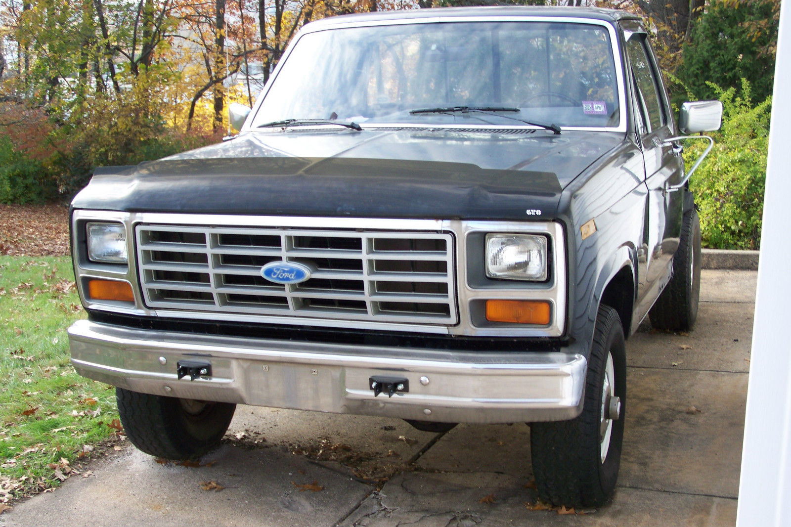 ford f150 stepside 4x4 1984 restoration project classic ford f 150 1984 for sale. Black Bedroom Furniture Sets. Home Design Ideas