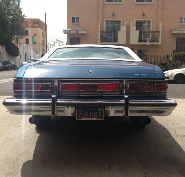 FORD GRAN TORINO ELITE 1974 351C 5.8L V8 Rare Muscle Car