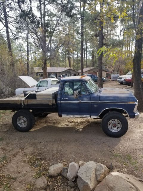 Ford High boy Highboy 4x4 f250 flatbed 4wd - Classic Ford Other 1975 for sale