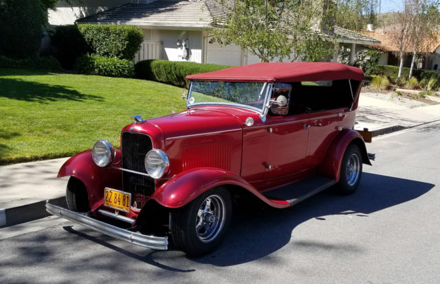 Ford model a style 1932 phaeton 4 door convertible sedan for 1932 ford 4 door