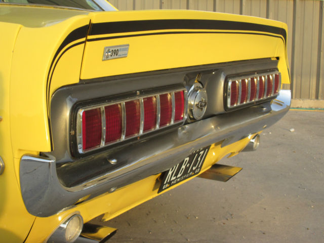 Used Car Dealers Corpus Christi >> FORD MUSTANG GT/CS CALIFORNIA SPECIAL SHELBY 1968 - RARE ...