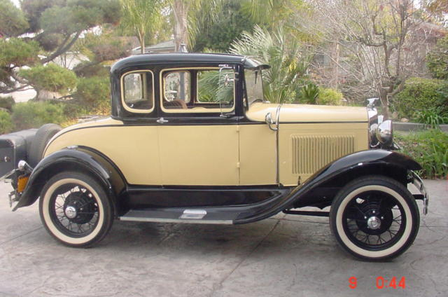 Ford restored model a 1930 5 window coupe all original for 1930 ford 3 window coupe