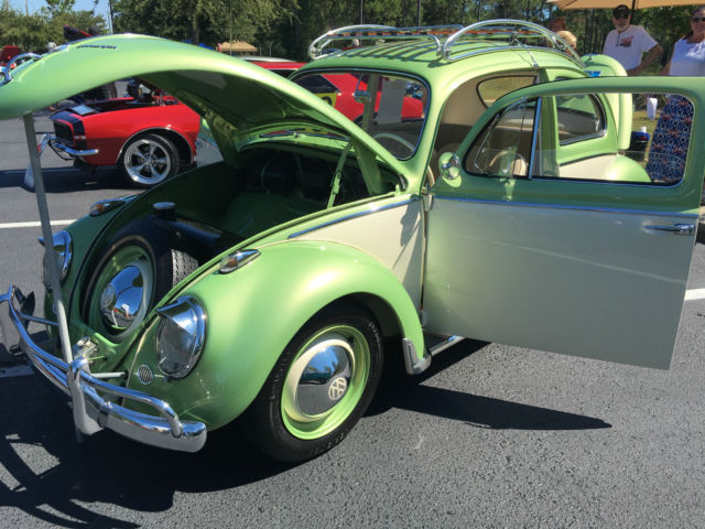 frame off restoration new engine new interior classic volkswagen beetle classic 1959 for sale. Black Bedroom Furniture Sets. Home Design Ideas