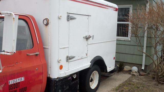 Freezer Body Custom Delux C30 Delivery Truck Ice Cream