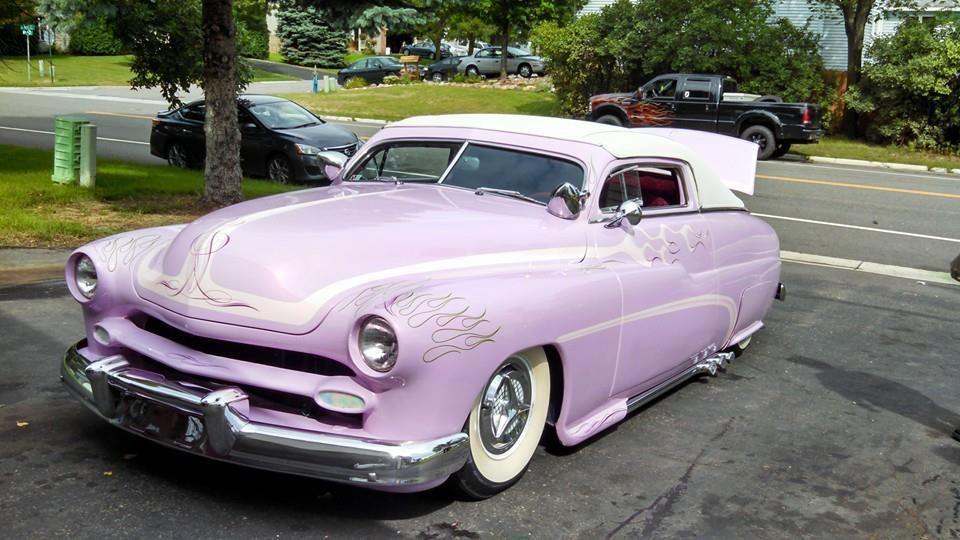 Full custom 1950 39 s style 2 door coupe mercury car for 1950 mercury 2 door coupe