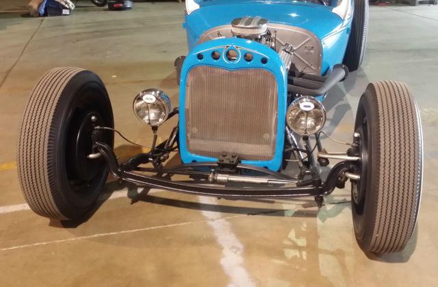FULL CUSTOM HOT ROD ROADSTER PICKUP 327 V8 AT QUICK! 1928 29 RAT TRUCK STREET - Classic Ford ...