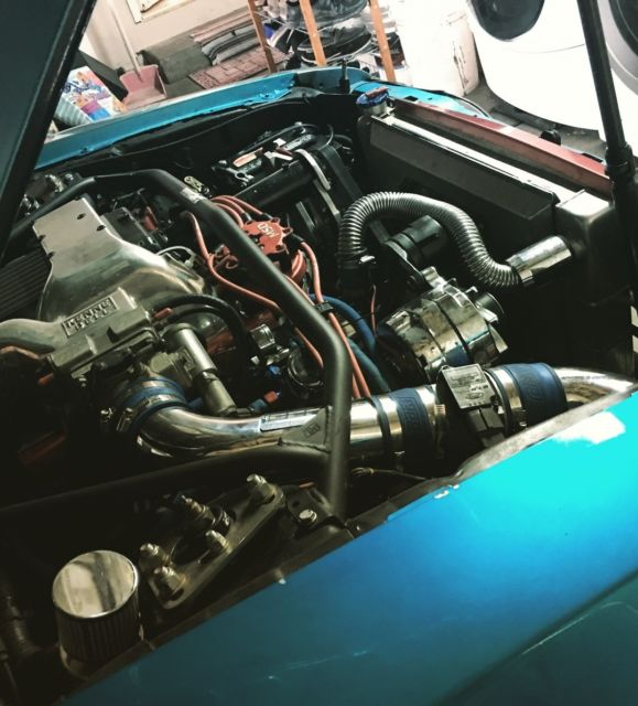Ford Mustang Supercharged South Africa: Fully Built Supercharged Foxbody Mustang Convertible, No
