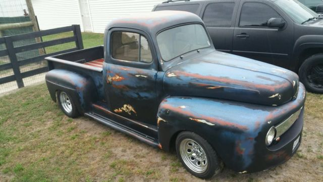 Truck Bed Liner Blue Paint Job