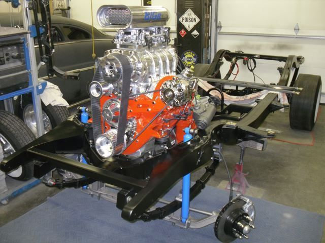 Fully Restored Chevy Gasser Small Block 350 671