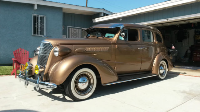 Fully restored gold 1937 chevy master deluxe 4 door for 1936 chevy master deluxe 4 door for sale
