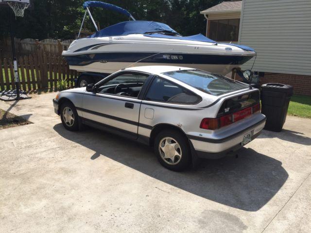 Gas Mileage Original Clic Geatt Find 1989 Honda Crx Hf