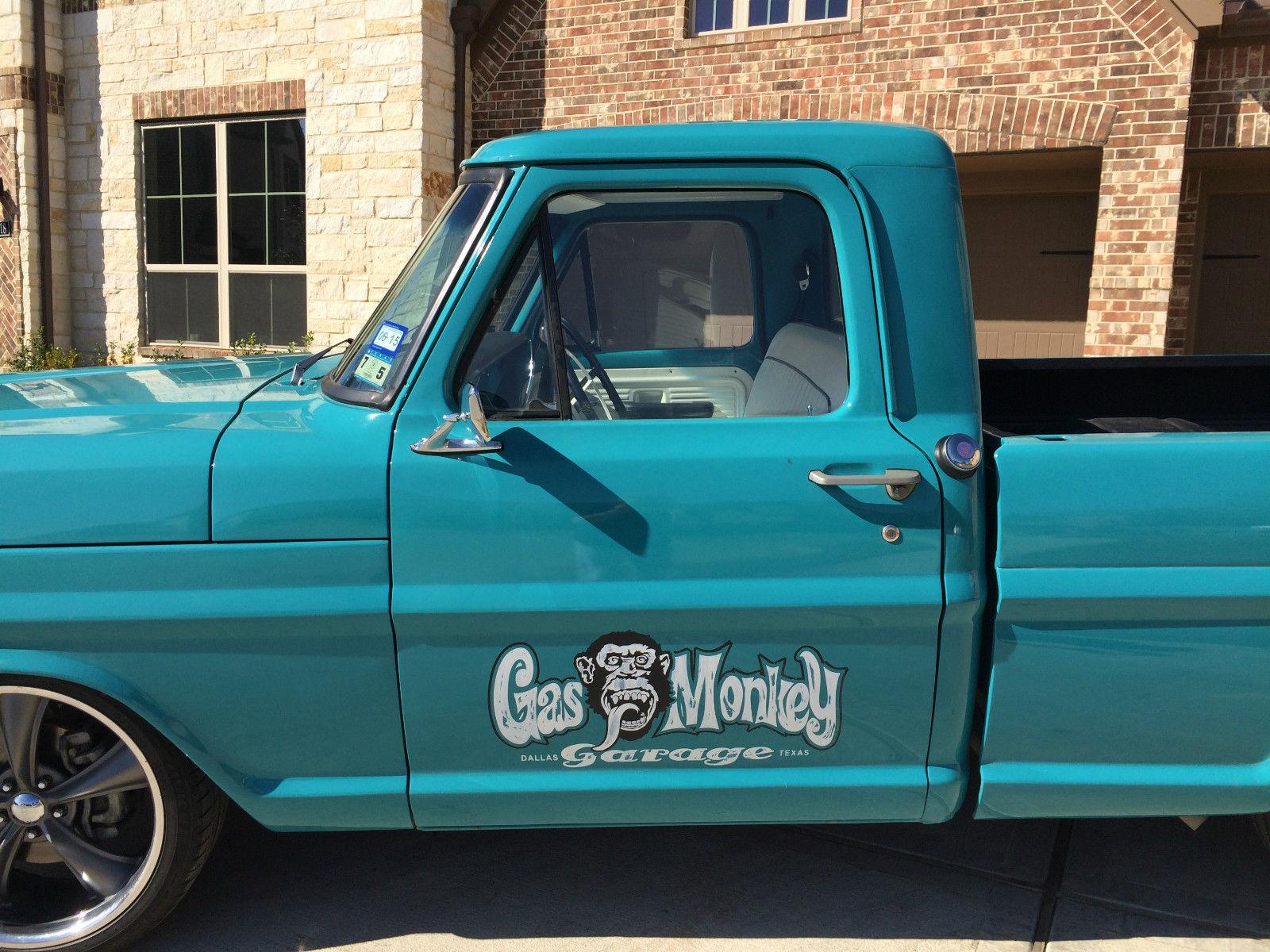 Gas Monkey Garage Built Ford F100 Short Bed Truck