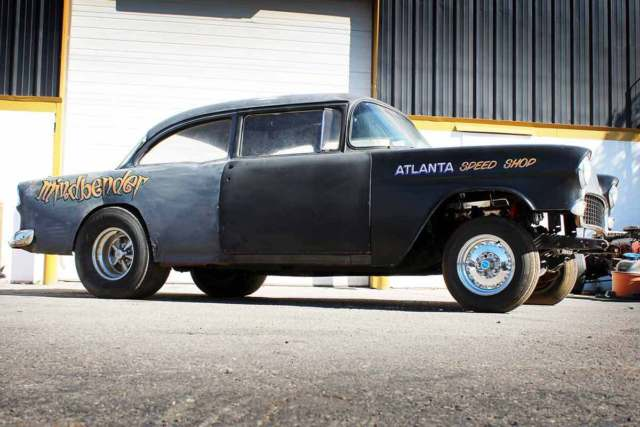 Gasser For Sale 1955 Chevy NHRA REAL BARN FIND Drag Car Hot Rod Race Racing