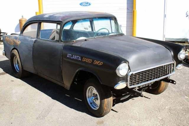 gasser for sale 1955 chevy nhra real barn find drag car hot rod race car racing classic. Black Bedroom Furniture Sets. Home Design Ideas