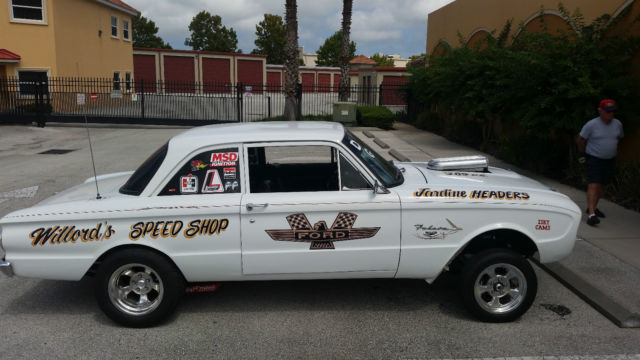 Gasser Hot Rod Rat Rod Drag Car Classic Ford Falcon