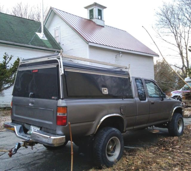 Toyota Maine: Gem Of A Classic 1991 4WD XtraCab Toyota, 116K Miles