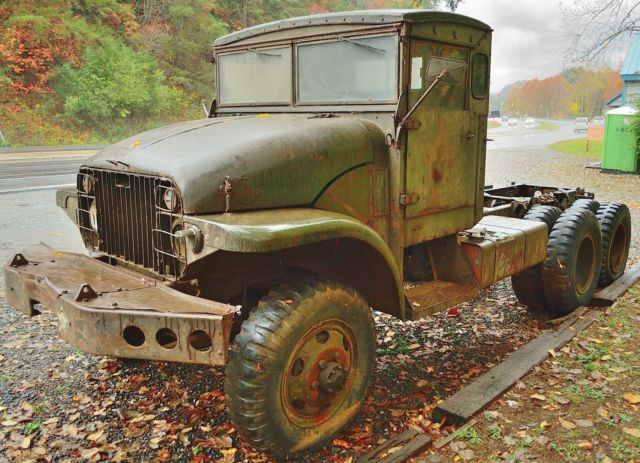 6x6 Military Trucks For Sale >> GMC M211 Deuce and a half 2-1/2-ton 6x6 Army / military truck - Classic GMC Other 1952 for sale
