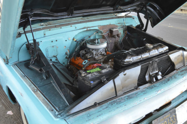 Gmc Short Bed Fleetside Rat Hot Rod Custom Pickup Truck