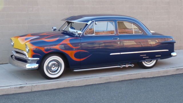 gorgeous 1950 ford coupe hotrod classic show car full resto mod flathead v8 classic ford. Black Bedroom Furniture Sets. Home Design Ideas