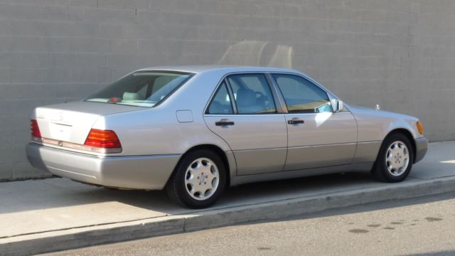 Gorgeous 1993 mercedes benz 300sd s class diesel 300 sd for 1993 mercedes benz 500 class