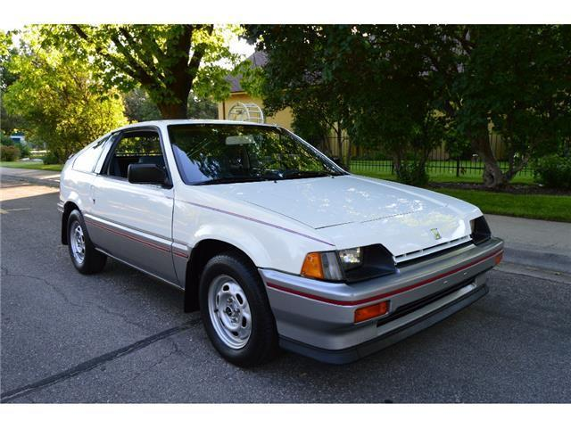 Gorgeous 66k actual mile 1984 honda crx sport coupe a c a for 1984 honda civic