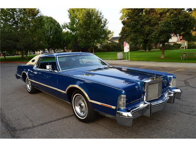 Used Cars Boise Idaho >> GORGEOUS RARE 19K ACTUAL MILE 1976 LINCOLN MARK IV BILL ...