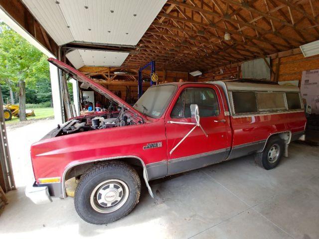 Grandpa's Truck- 1986 GMC Sierra 2500 Camper Special ...