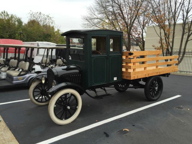 great 1919 ford model t flatbed truck original cab runs great unique truck classic ford. Black Bedroom Furniture Sets. Home Design Ideas