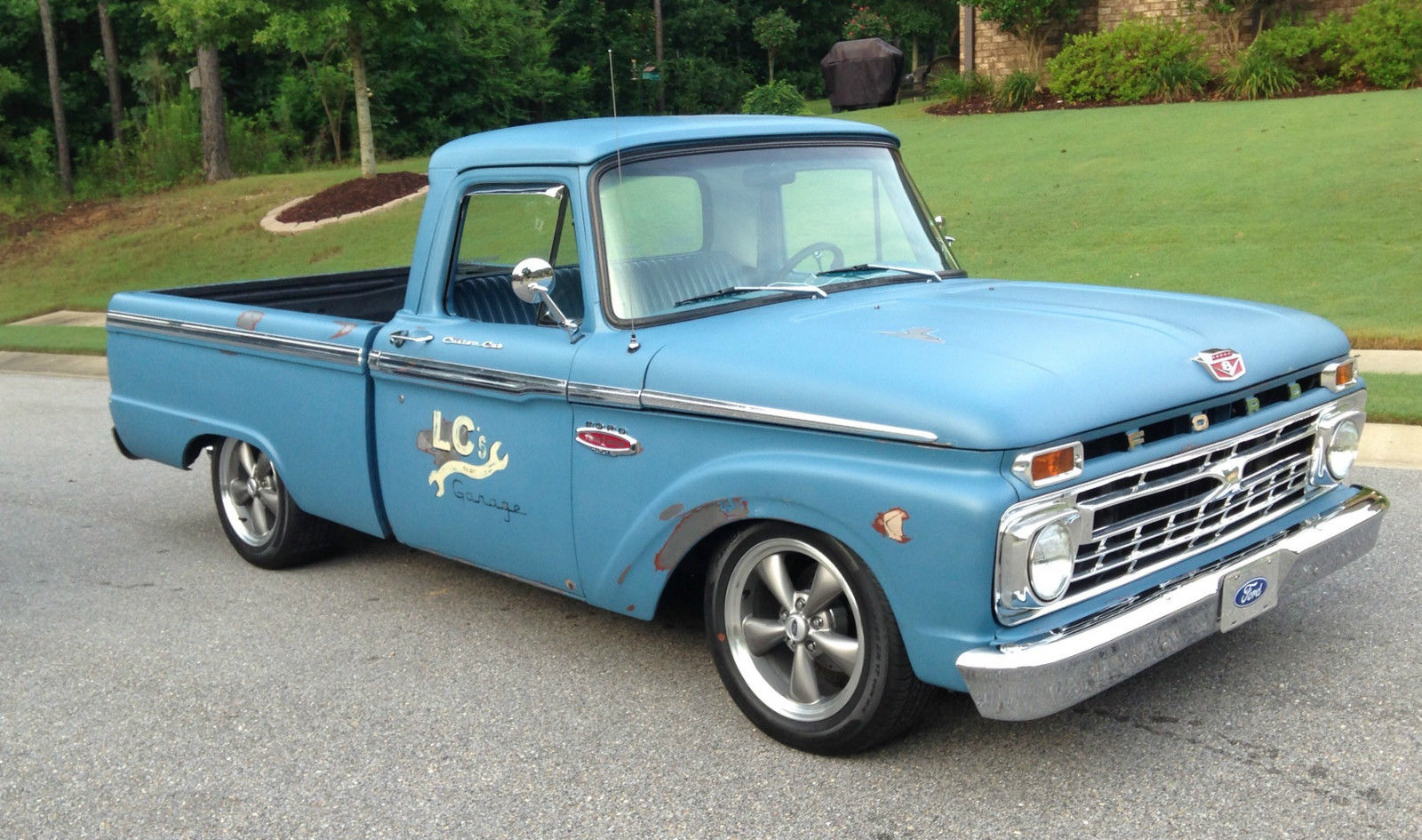 great looking 1966 f100 patina flat paint classic ford f 100 1966 for sale. Black Bedroom Furniture Sets. Home Design Ideas