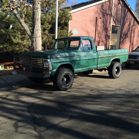 Green Ford F-250 4x4 High boy Zombie Smasher - Classic ...