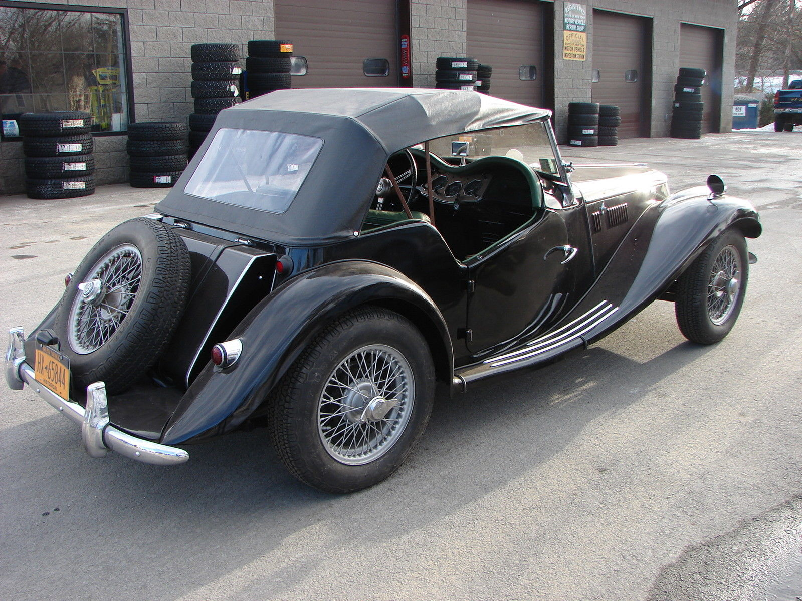 GROUND-UP RESTORATION - MG TF 1500 with SUPERCHARGER and