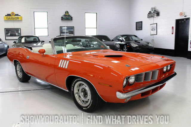 hemi orange 1971 plymouth cuda383 magnum727 auto for sale classic plymouth other 1971 for sale. Black Bedroom Furniture Sets. Home Design Ideas