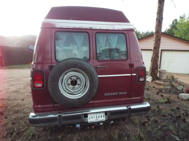 Hightop conversion van-family van or camper setup - Classic