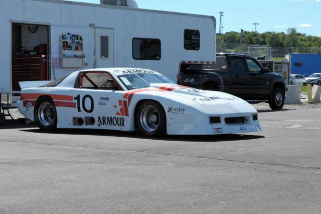 Historic Trans Am Series Race Car Armor Foods 10 Jerry