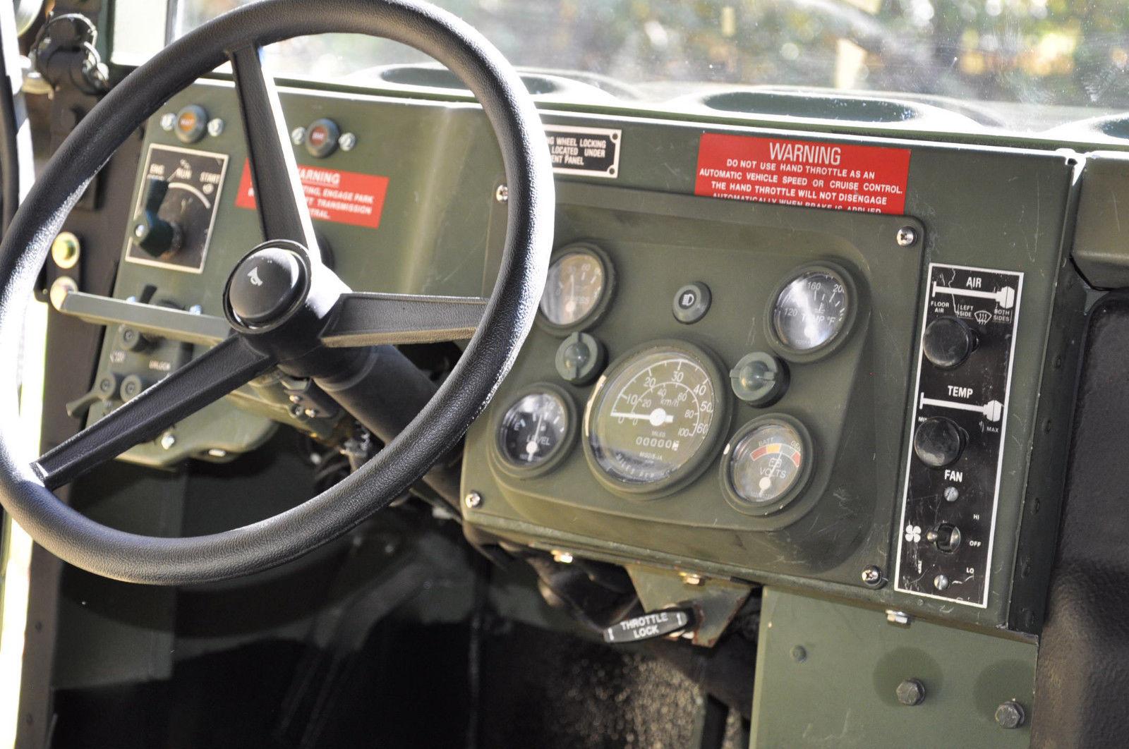 hmmwv humvee m1123 hummer enhanced restoration h1 considered trades title body accessories custom