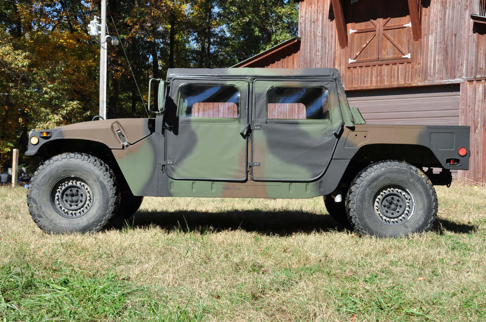hmmwv humvee m1123 enhanced body off restoration with title trades considered classic. Black Bedroom Furniture Sets. Home Design Ideas