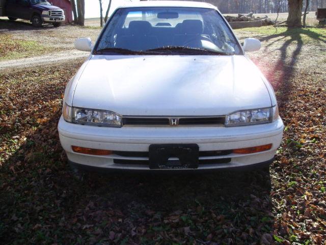 Honda accord 1993 10th anniversary 77500 mi blown engine for Honda accord motors for sale