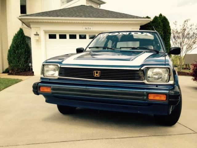 Honda Civic 1980 1500gl Antique Vintage Car Made In Japan