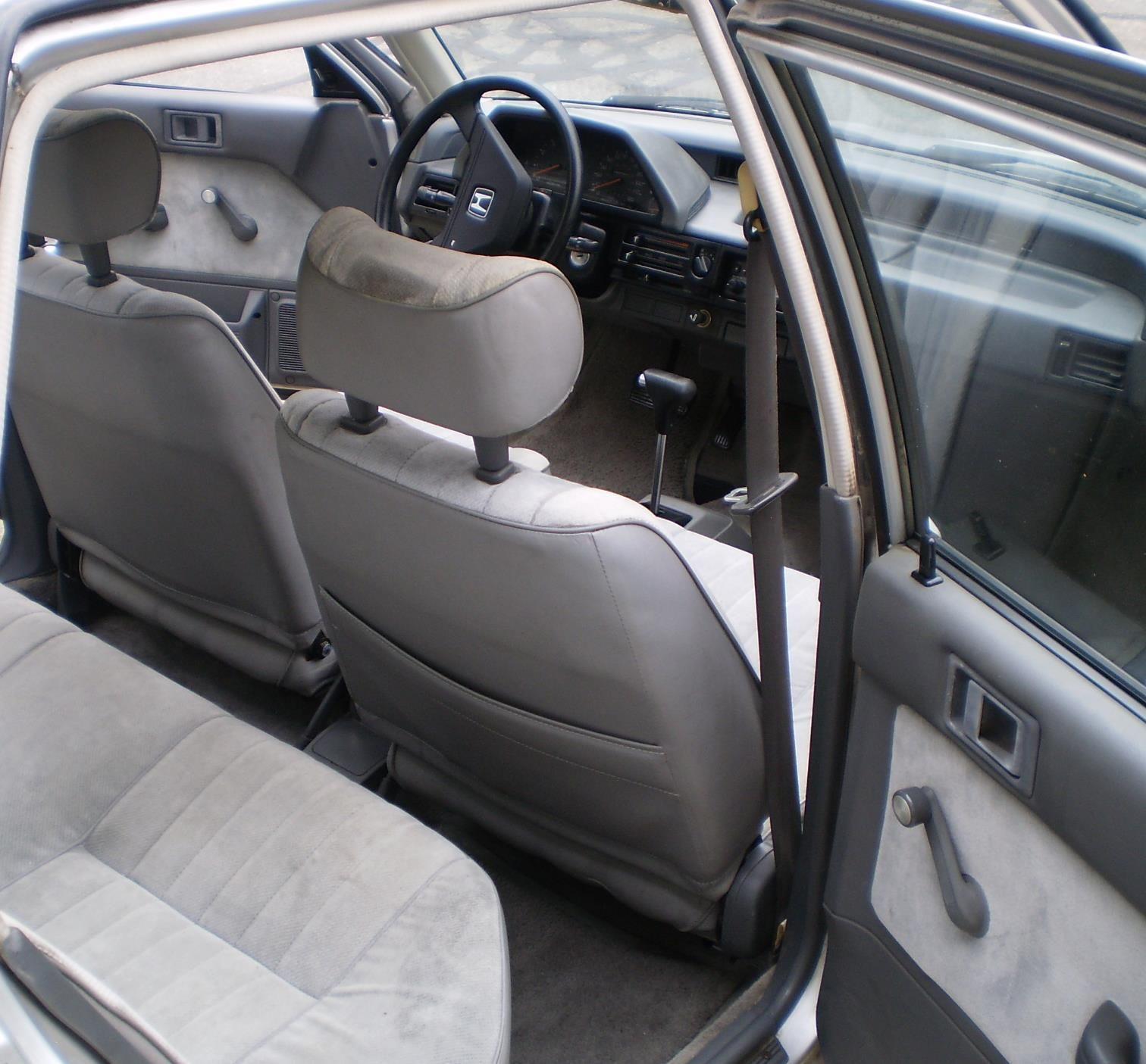 Honda Civic Sedan 1984 Older Classic